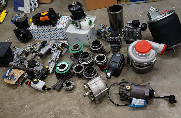 Commercial vehicle parts - 2
