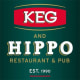 Keg and Hippo logo
