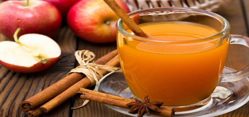 Cold Flu Fighting Apple Turmeric Green Tea