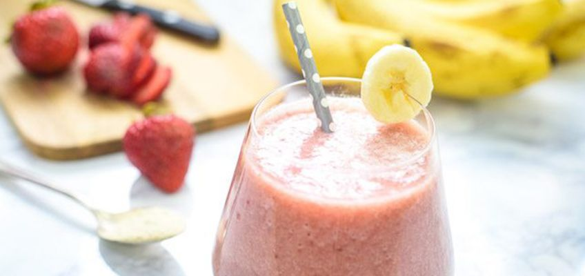 Strawberry Banana Ashwaganda Recipe