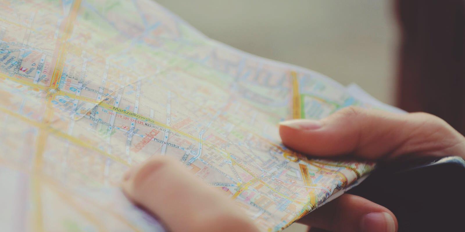 Holding map mrstvu