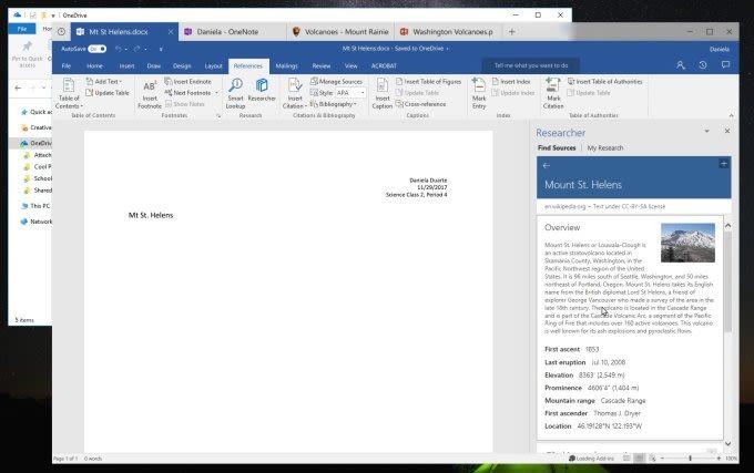 Τα Windows 10 'Sets' επιτρέπουν στους χρήστες να ομαδοποιούν εφαρμογές και ιστότοπους σε ένα παράθυρο με καρτέλες
