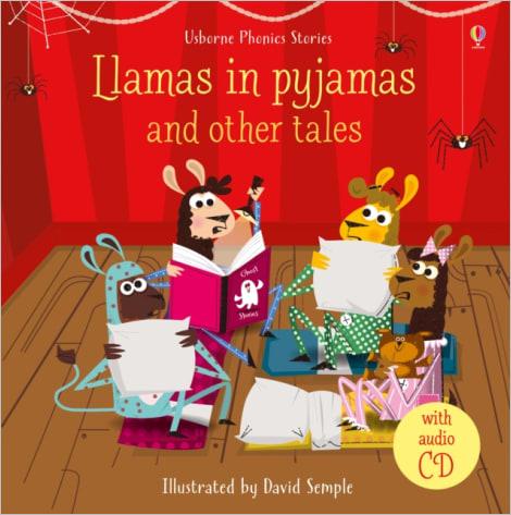 Phonics Stories: Llamas in pyjamas and other tales (avec CD audio)