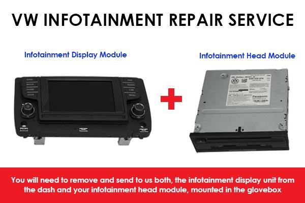 Infotainment System Repair Service for Volkswagen