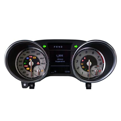 Instrument Cluster Repair Service for Mercedes-Benz SLK Class