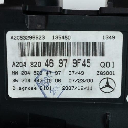 Comand Navigation Display Repair For Mercedes-Benz W204, W172