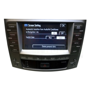 GPS/Navigation / Infotainment / Radio System Touch Screen for Lexus