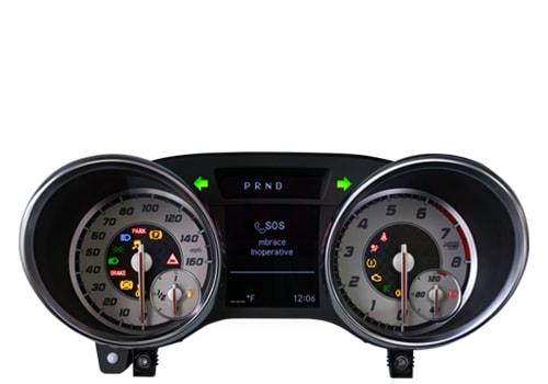 Instrument Cluster Repair Service for Mercedes-Benz SLK Class