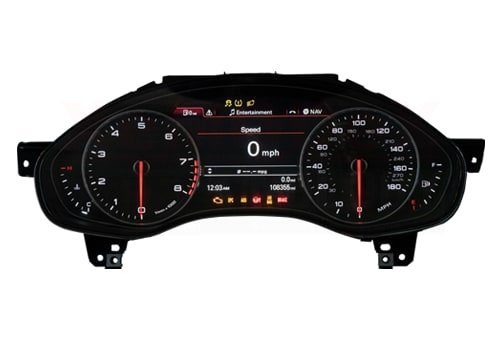 Instrument Cluster Repair Service for Audi A6, A7, C7, S6, S7