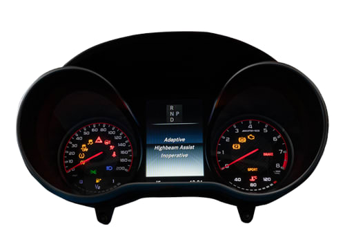 Instrument Cluster Repair Service for Mercedes-Benz W205