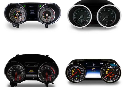 Instrument Cluster Testing For Mercedes-Benz