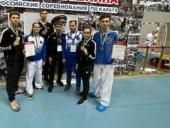 Томские каратисты отличились на всероссийском турнире