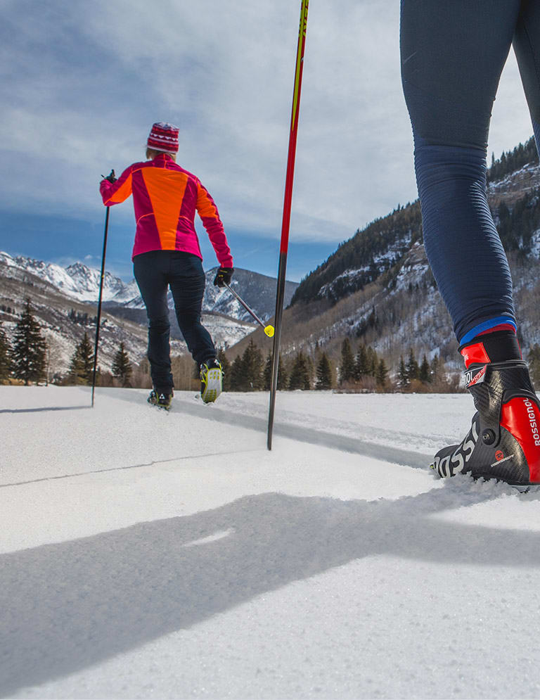 Nordic Skiing &  Snowshoeing