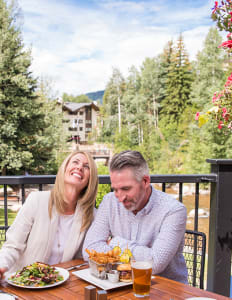 Patio Dining in Vail
