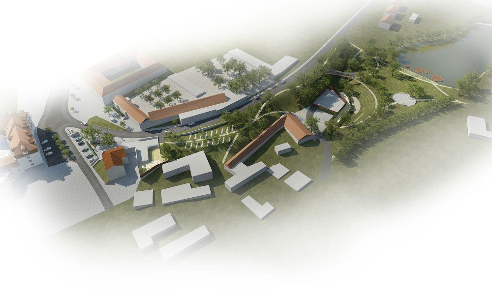 Tetín, historické jádro obce, M&P Architekti