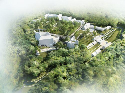 Náměšť nad Oslavou, Zámecký park, M&P Architekti, Mp architekti