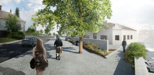 Hrotovice, veřejná prostranství, M&P Architekti, Mp architekti