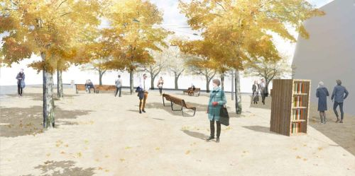 Tišnov, revitalizace náměstí Míru, M&P Architekti, Mp architekti
