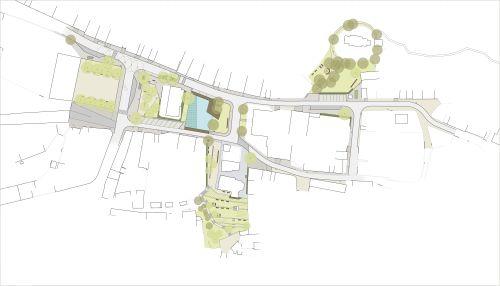 Tetín, historické jádro obce, M&P Architekti, Mp architekti