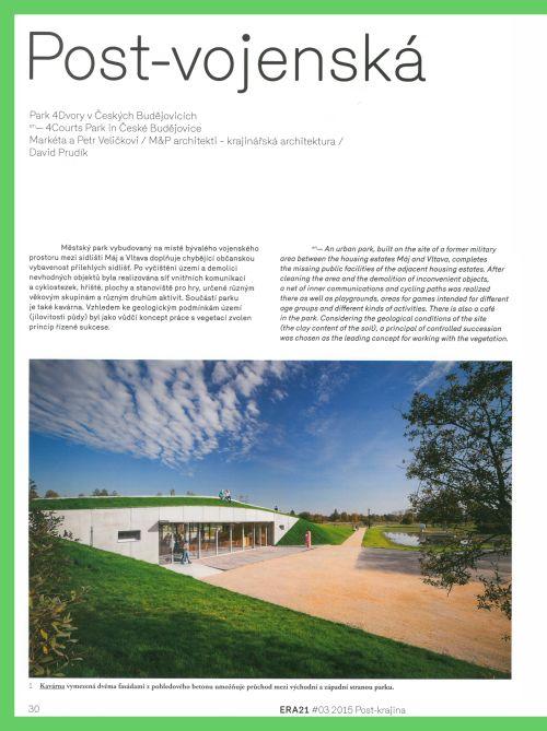ERA21, Post - krajina , M&P Architekti, Mp architekti