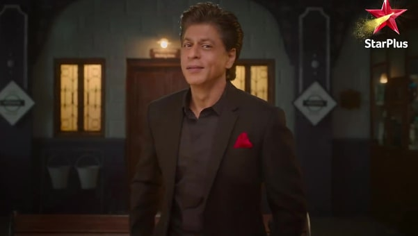 shah rukh khan black suits look trailer style inspiration