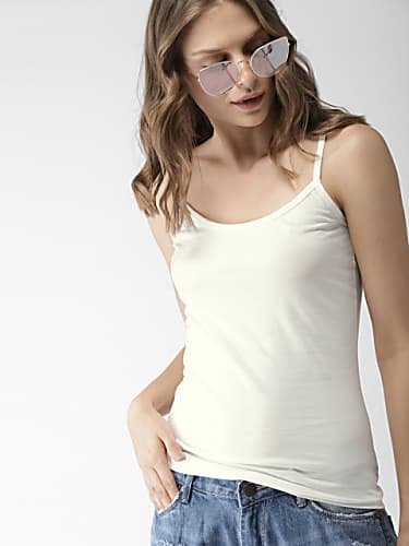 mast  harbour women white solid top