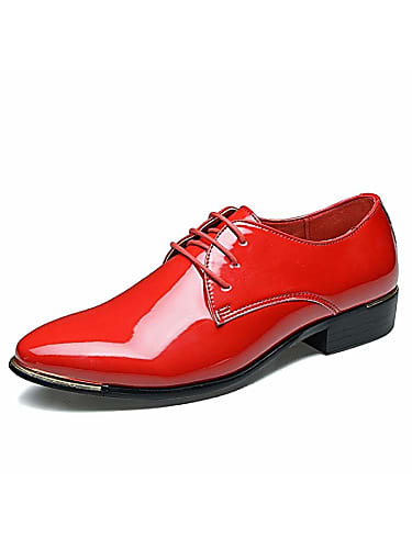 a-cool men's lace up formal modern oxford shoe