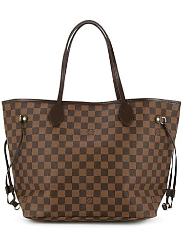 louis vuitton vintage neverfull mm tote