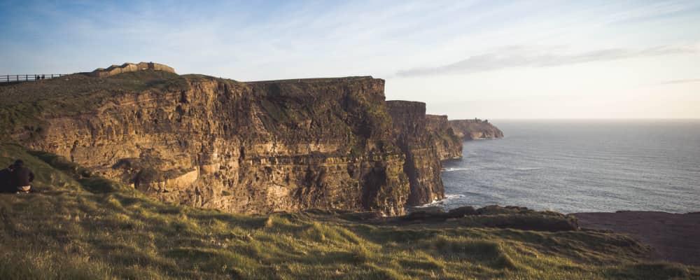 irlande paysage falaise