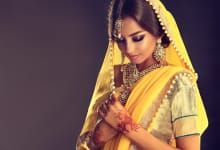 Awesome saree drapes