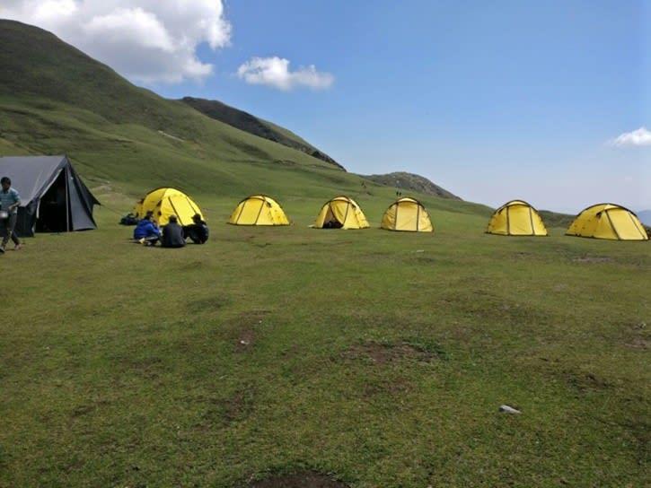Campsite Roopkund trek