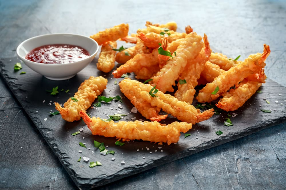 Offbeat monsoon special fritters recipe - Japanese shrimp fritters