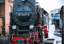Luxury train journey