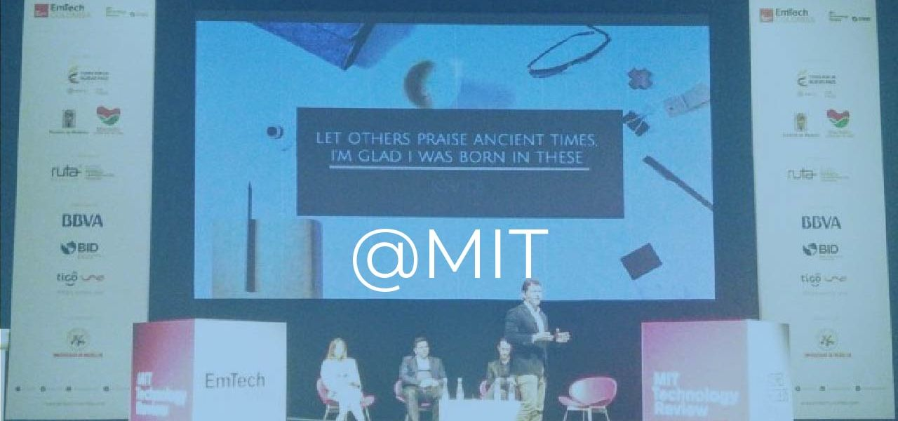 MIT Technology Review Event