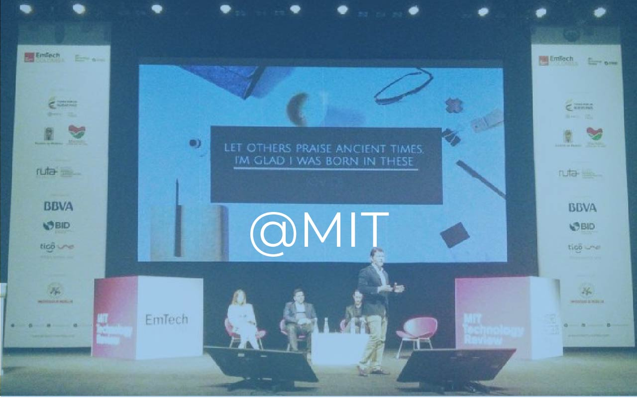 Ubidots @ MIT Technology Review Event
