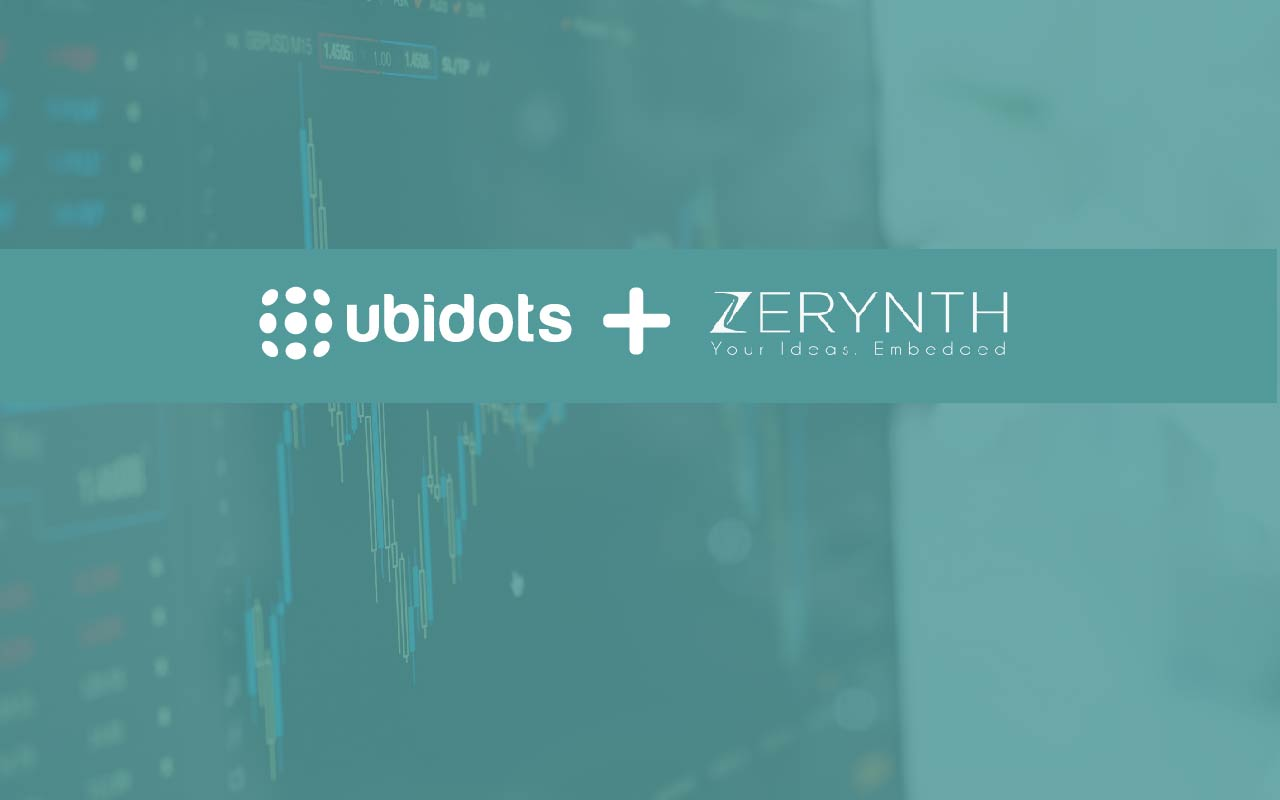 Ubidots Announces Embedded Technology Partnership with Zerynth