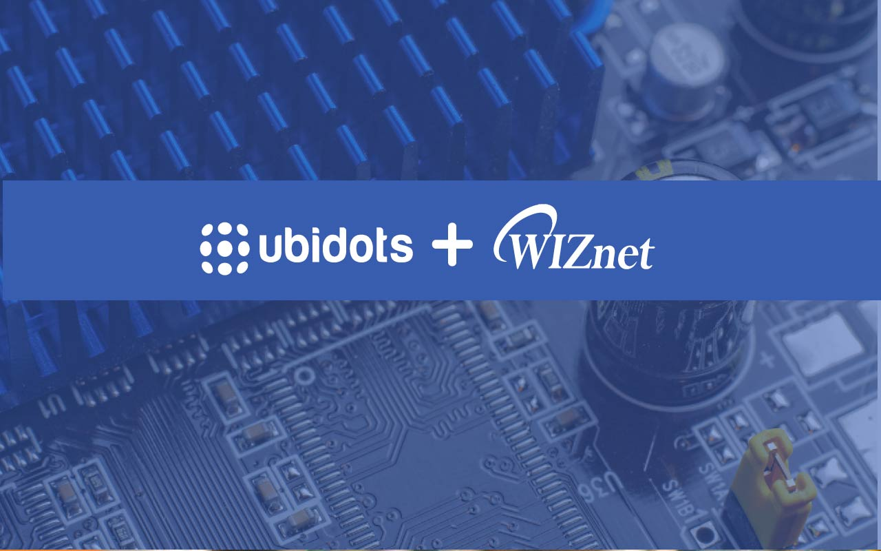 Ubidots and WIZnet partner for Simple Embedded IoT Solutions