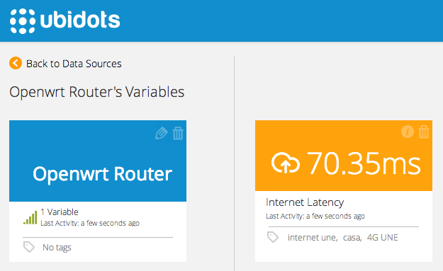 How to monitor your Internet connection using OpenWrt and Ubidots