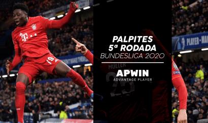 Palpites para a 5ª rodada do Campeonato Alemão 2020/2021 | Bundesliga