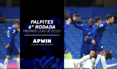 Palpites para a 6ª rodada do Campeonato Inglês 2020/2021 | Premier League