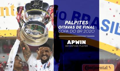 Palpites para as oitavas de final da Copa do Brasil 2020 - 1º jogo