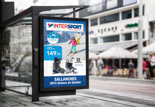 campagnes affichages MU intersport