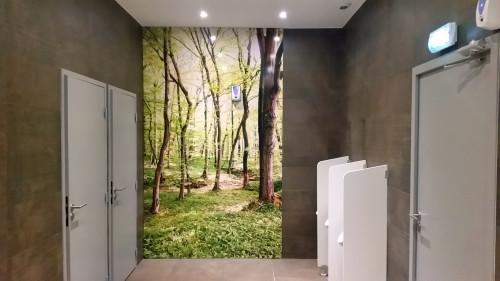 habillage toilettes