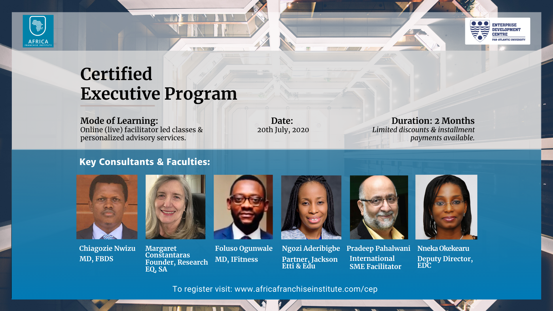 A Report on the Certified Executive Program (CEP2)