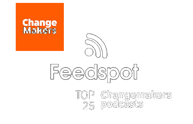 genzers to rise podcast on top 25 changemakers podcasts by Feedspot