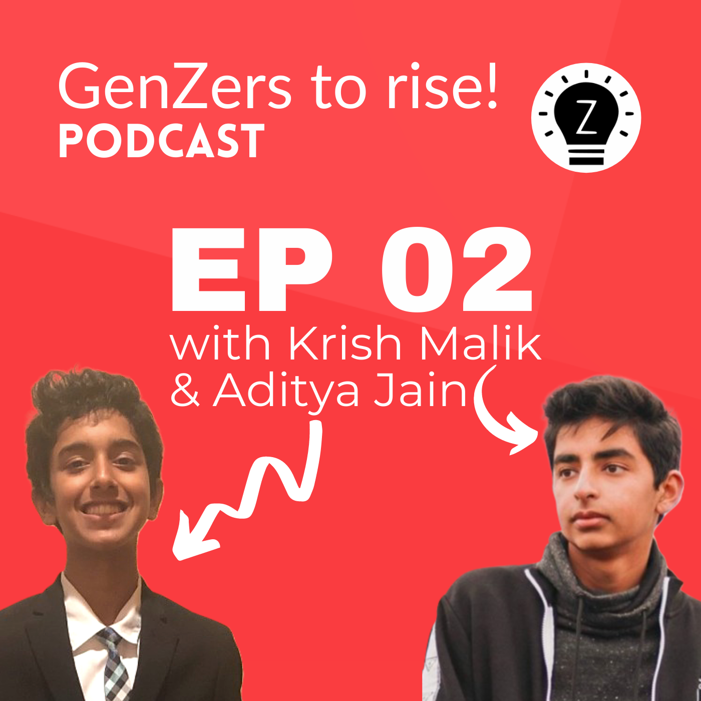 Ep 2 of GenZers to rise! podcast: Using technology to make opportunities more accessible with Revoteen