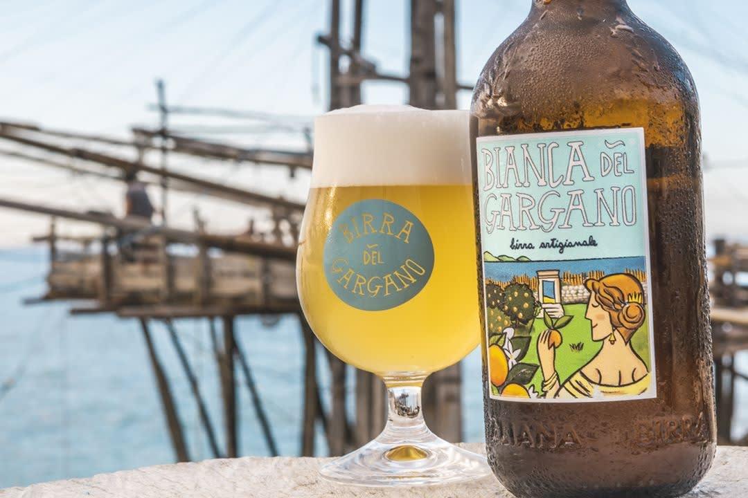 Come viene pubblicizzato il brand di Birra del Gargano?