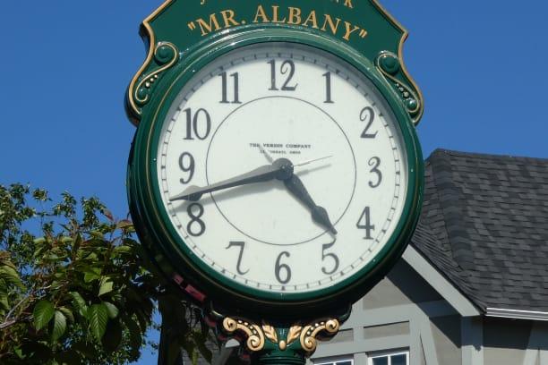 Mr Albany clock