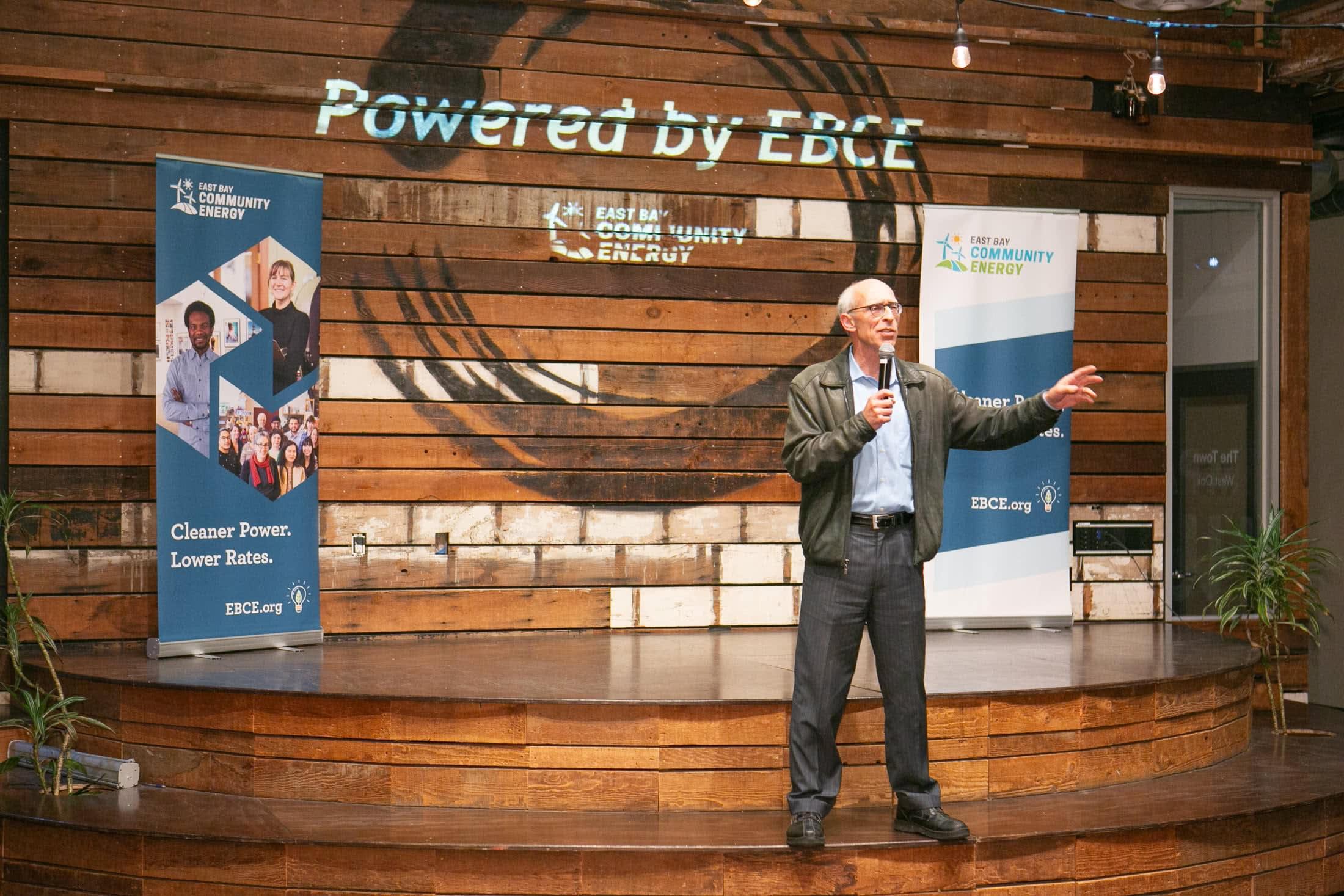 EBCE Chair and Oakland City Councilmember Dan Kalb