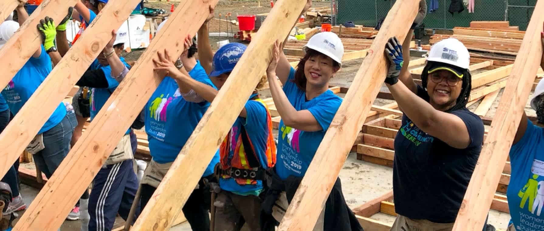 Womens Leadership Build in Fremont